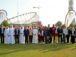 London congratulates Doha 2019