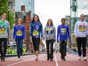 Athlete quotes from pre-Great Manchester CityGames and Run press points